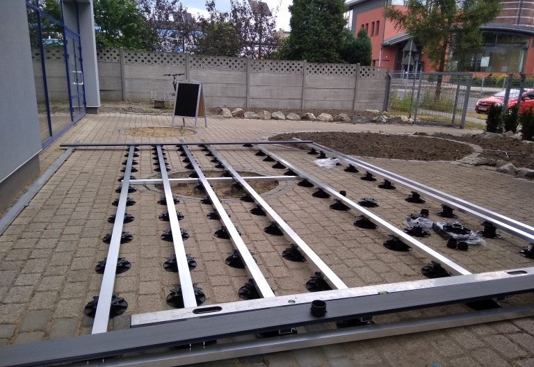 podłoże betonowe/kostka betonowa