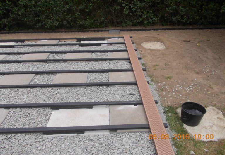 podłoże kamienne/płyty betonowe